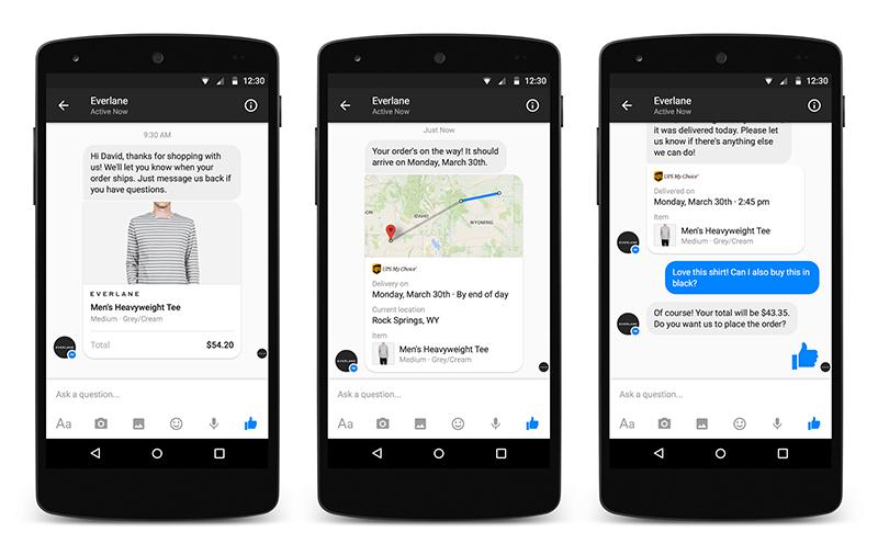 facebook messenger cập nhật