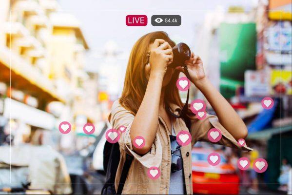 influencer live stream