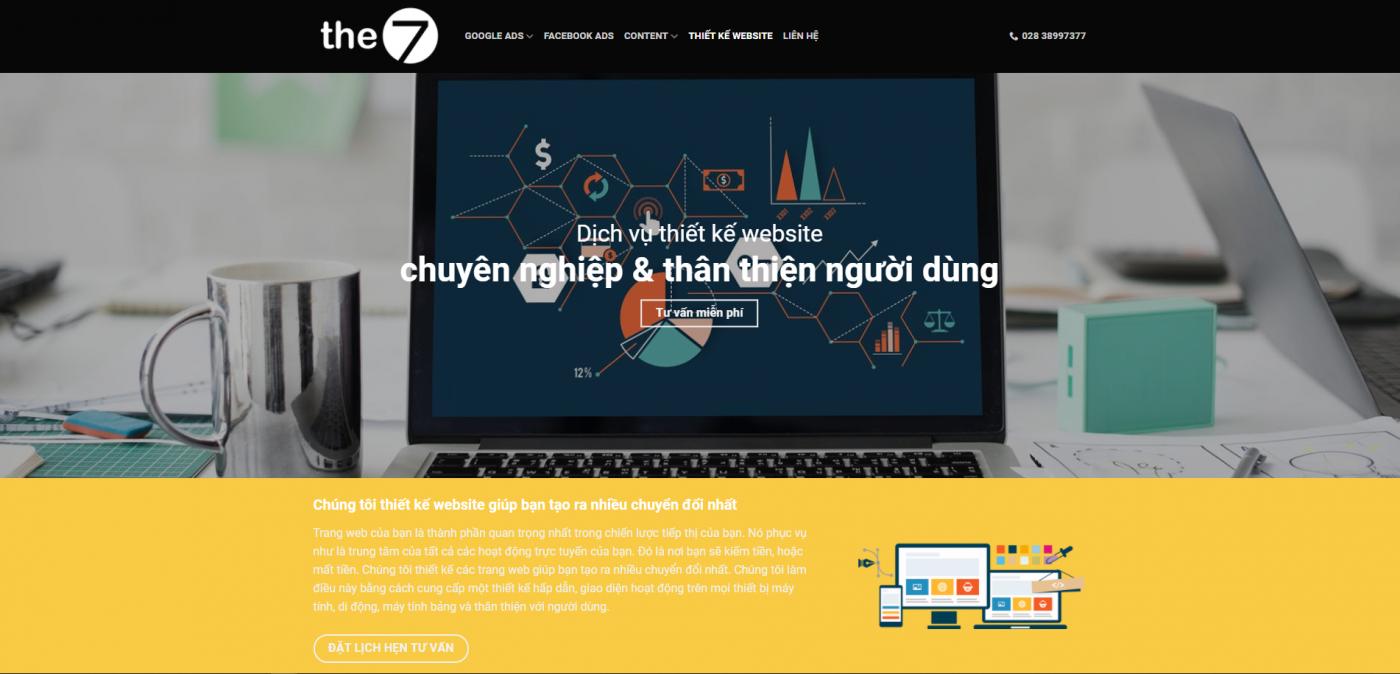 Thiết kế Web cùng The7