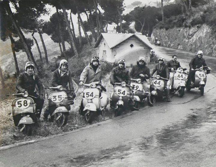 Các dòng xe Vespa cổ được yêu thích trong những năm 40 của thế kỷ 20