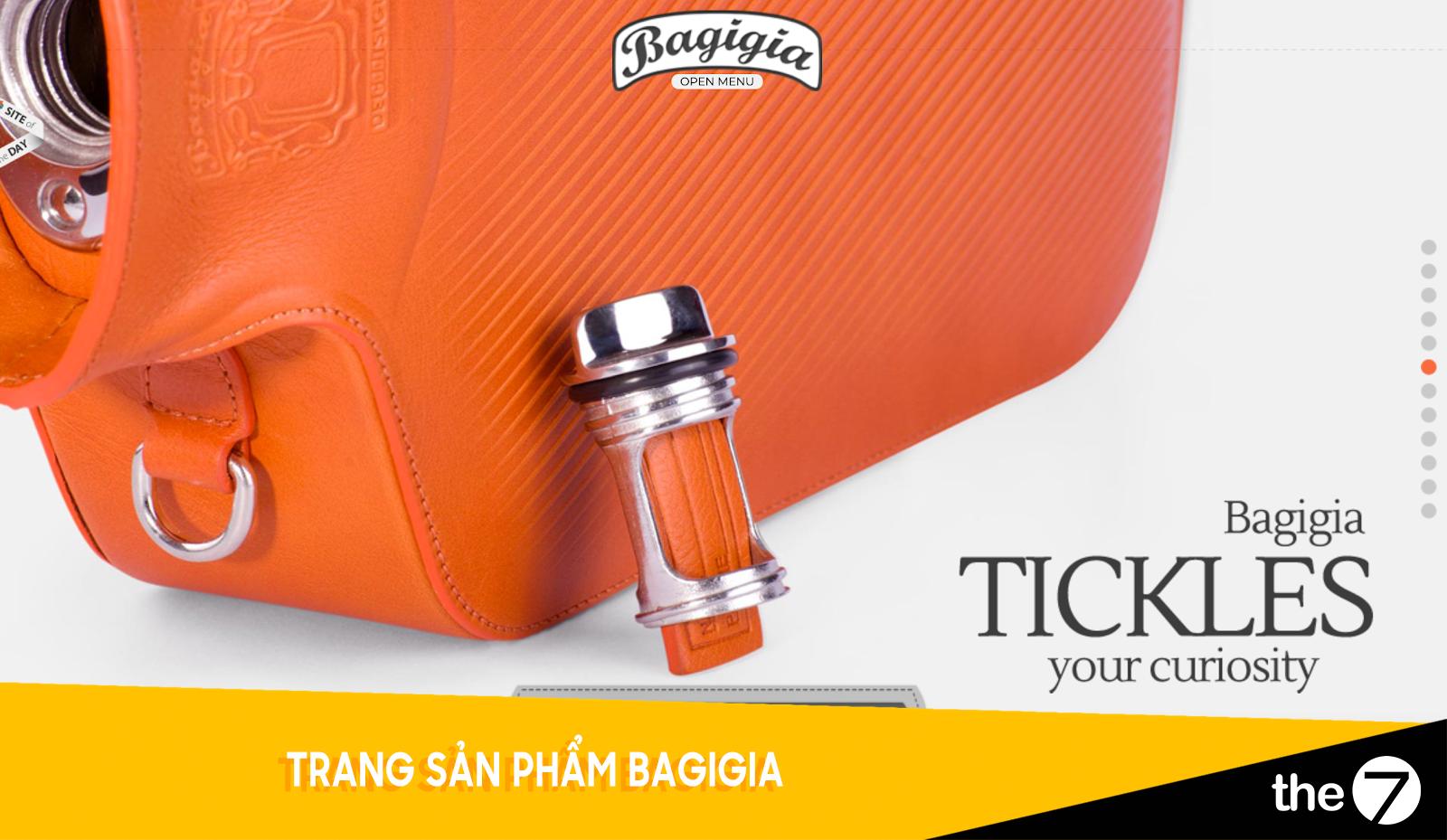 Thiết kế website bán hàng - Trang bán hàng Babagia