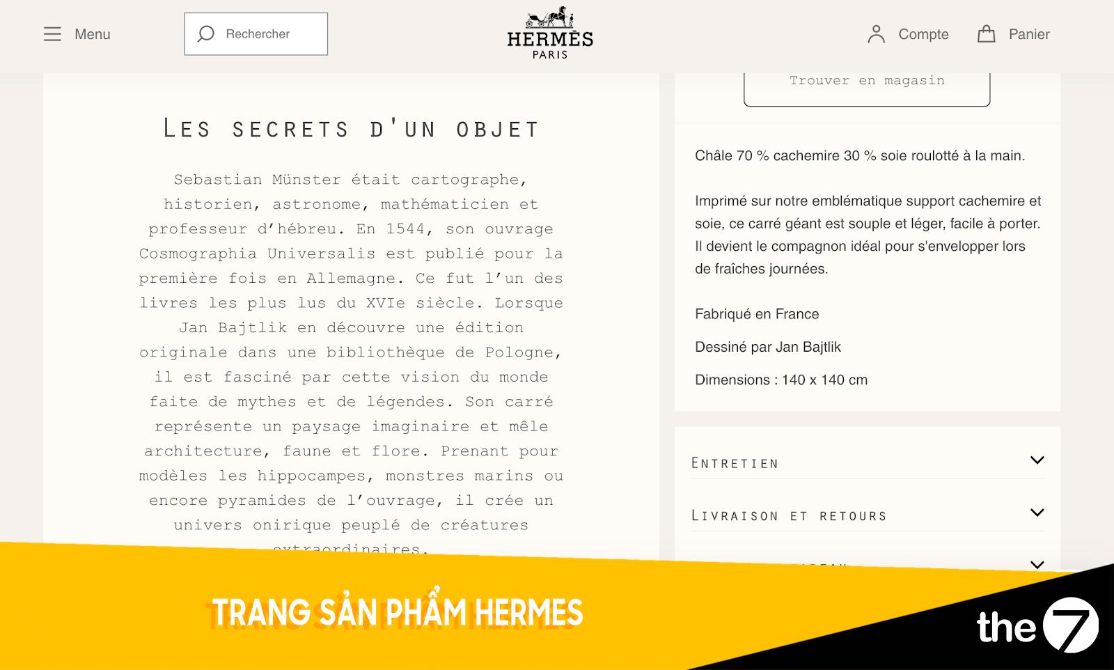 Trang sản phẩm Hermes