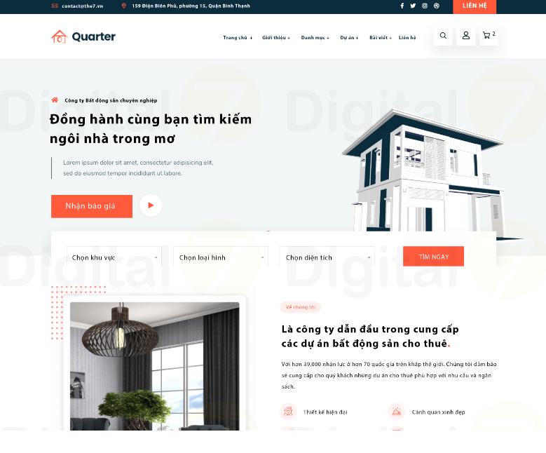 Theme Website Quarter